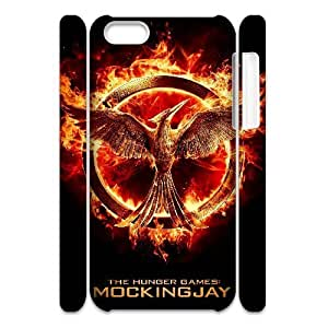 ALICASE Design Diy hard Case The Hunger Games For Iphone 4/4s [Pattern-1]