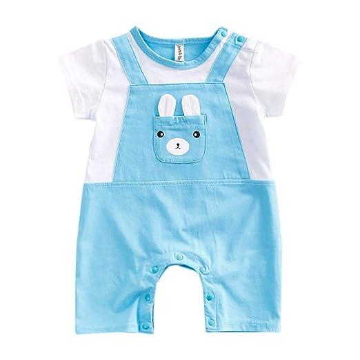 Newborn baby boy girls cotton bodysuits romper clothes cartoon jumpsuits TDO