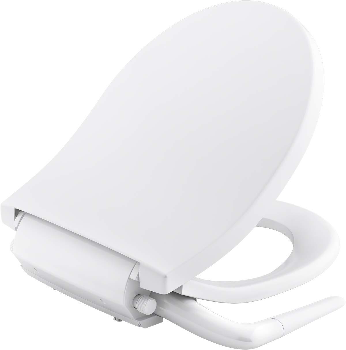 KOHLER K-76923-0 Puretide Round Front Manual Bidet Toilet Seat Image