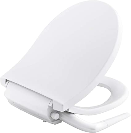 Peachy Kohler K 76923 0 Puretide Round Front Manual Bidet Toilet Seat White With Quiet Close Lid And Seat Adjustable Spray Pressure And Position Dailytribune Chair Design For Home Dailytribuneorg