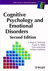 Cognitive Psych & Emotional Di (Wiley Series in Clinical Psychology)
