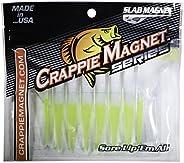 Crappie Magnet 8-Piece Slab Magnet Grub Body Pack