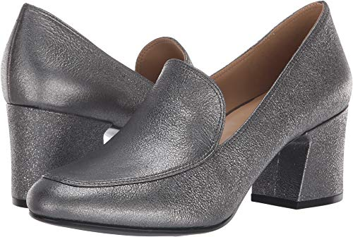Naturalizer Women's Dany Pewter Sparkle Metallic Leather 8 M US M (B) ()