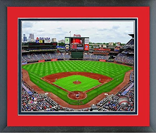 - Atlanta Braves Turner Field MLB Stadium Photo (Size: 26.5