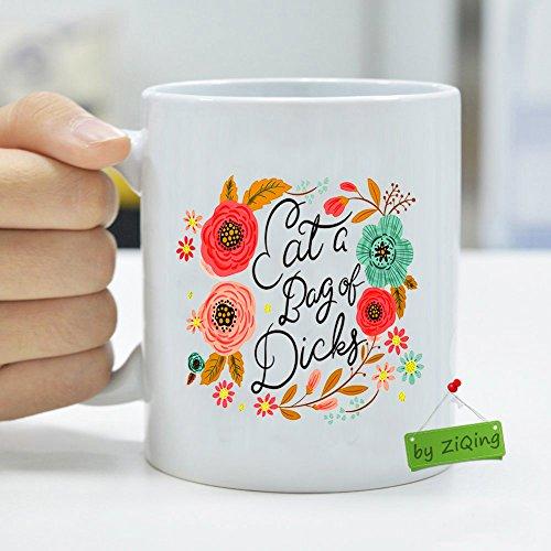 Eat a Bag of Dicks Mug Personalized Coffee Travel Mug,Funny