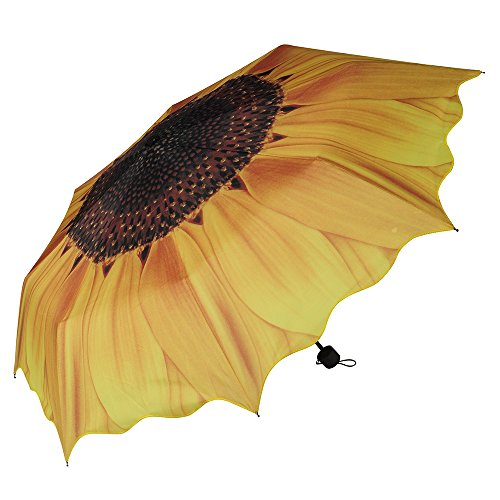 Expower(R) Portable Opaque Sunflower Print Fold...