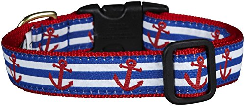 - Up Country Anchors Aweigh Dog Collar - Large