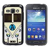 Jordan Colourful Shop - FOR Samsung Galaxy Ace 3 - Sun above always shines - Custom black plastic Case Cover