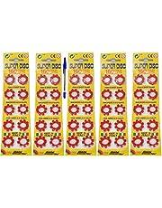 KANDY TOYS Capsules pour BAGUES 8 Shots - 800 Shots - 100 BAGUES - sous Blister Original Edison Giocattoli Plus 1 Stylo sans SST