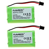 Floureon 2X 3.6V 900mAh Ni-MH Cordless Phone Batteries for Radio Shack 435562 435862 23961 CS90261 TAD-3898 ET-3580, Office Central