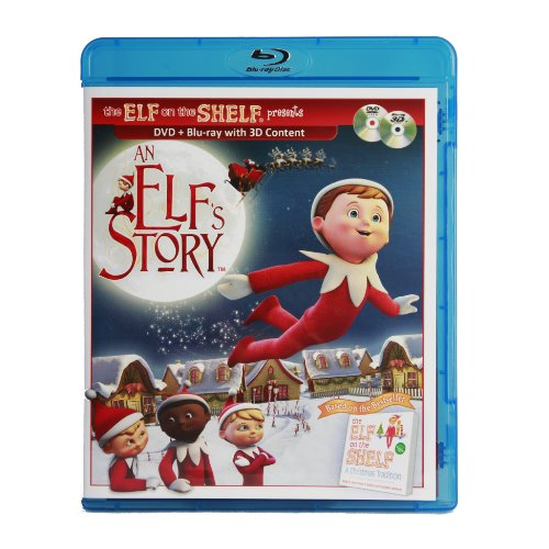 An Elf's Story DVD/Blu-Ray Combo Pack (Santa Secret Elf)