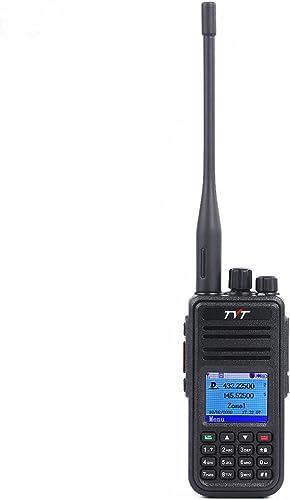 TYT MD-UV380 Dual Band DMR Radio VHF UHF 136-174Mhz 400-480Mhz Two Way Radio Portable Ham Radio Amateur