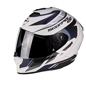 Amazon.es: Scorpion 14 - 218 - 214 - 03 Casco Moto exo-1400 Air Cup, Multicolor, talla S