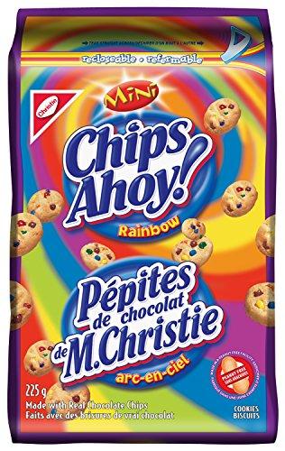 Chips Ahoy! Mini Rainbow 225 Gram/7.93 Ounces {Imported from Canada}