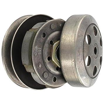 xfight de Parts embrague completo 122 mm con riemensch sin campana 4takt 125/180ccm 152QMI GY6 80900: Amazon.es: Coche y moto