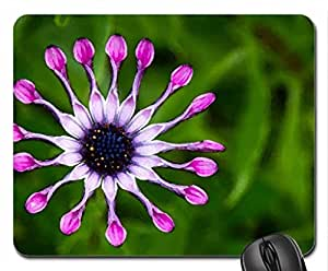 Flower Mouse Pad, Mousepad (Flowers Mouse Pad, Watercolor style) by mcsharks