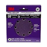 3M 88521NA-9-B Pro Grade 5-Inch 8-Hole Sanding Disc