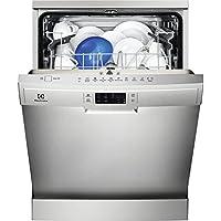 Electrolux ESF5512LOX Autonome 13places A+ lave-vaisselle - Lave-vaisselles (Autonome, Acier inoxydable, Taille maximum (60 cm), Acier inoxydable, boutons, LED)