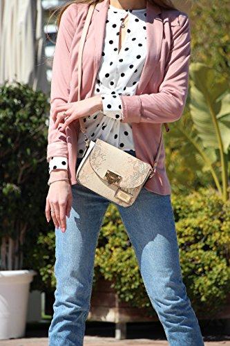 David Marron EFERRI Rosa femme Besaces Rosa Bluebags 8wPqx5q