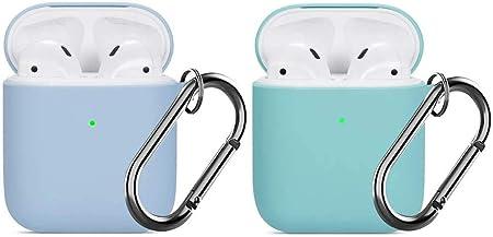 Für Airpods Hülle Watruer Silikon Skin Cover Case Full Elektronik