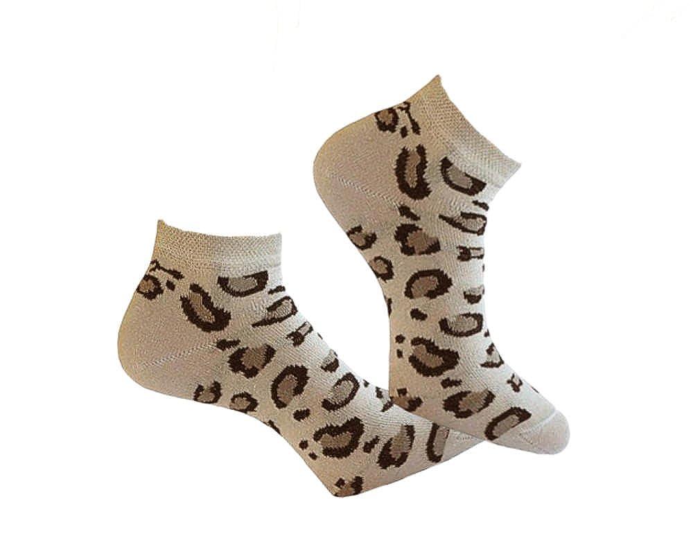 Damen Sneakers Söckchen Socken halbe Socken Füsslinge Füßlinge Karo-Dessin Karo