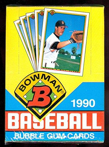 1990 Bowman Baseball Wax Pack Box FACTORY SEALED Sammy Sosa Rookie Card Set (Bowman Baseball 1990)