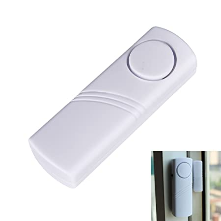 Baby Gate Alarm Wireless Home Alarm Battery Operated 100 Db Alarm