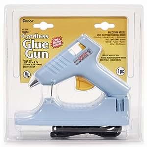 Bulk Buy: Darice DIY Crafts Mini Glue Gun Cordless 120 V 10 Watts (1-Pack) 10875A