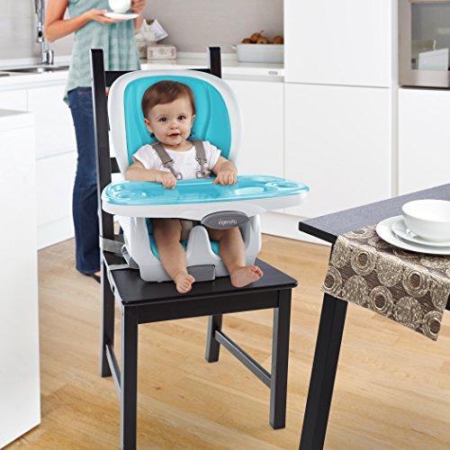 Ingenuity SmartClean Trio 3-in-1 High Chair, Aqua by Ingenuity (Image #3)
