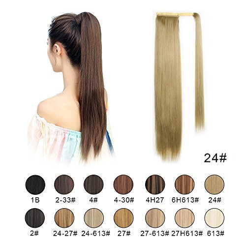 Check expert advices for ponytail extension straight blonde?