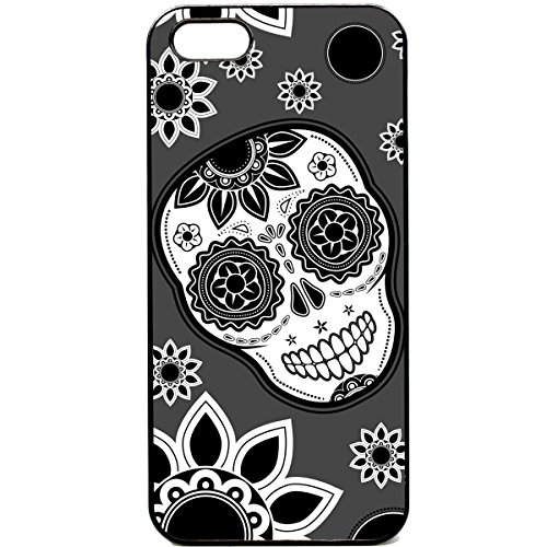 iPhone 5 5S mexikanischen Totenkopf Muster Cute Funky Retro Handy Case