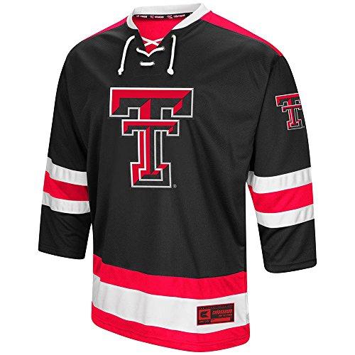 - Colosseum Mens Texas Tech Red Raiders Hockey Sweater Jersey - 2XL