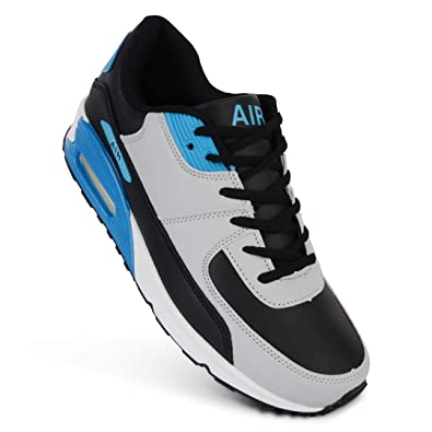 Mens Air Shock Absorbing Running Walking Trainers Jogging Gym Shoes Size 7 11