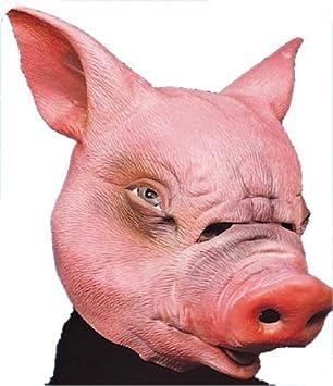 GOMA máscara de cerdo 68430
