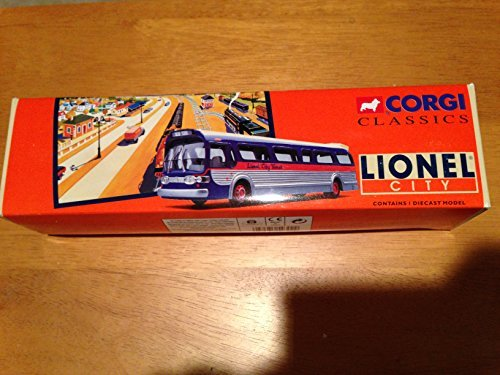 Corgi Diecast 1:50 Lionel City Transit 54302 GM 5301 Fishbowl Bus New York LE