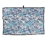 RUNNING BEAN Camouflage Golf Towel Fashion Sports Towel Player Towel