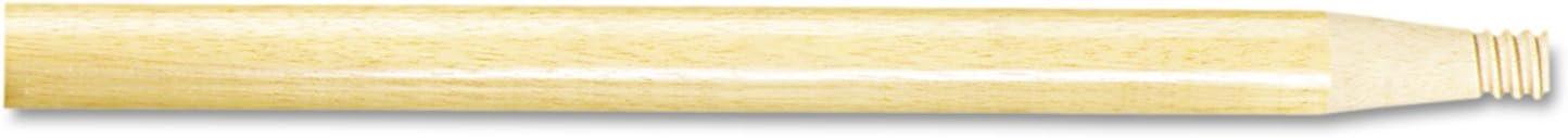 15//16-Inch X 60-Inch Natural Wood Boardwalk 122 Threaded End Broom Handle