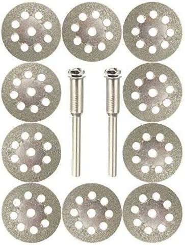 60pcs Diamond Cutting Wheels For Dremel Rotary Tool die Drinder Cut Off Disc
