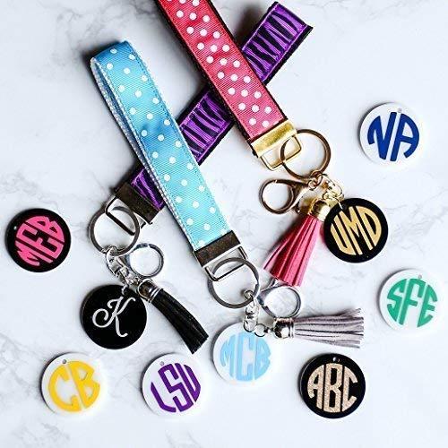 Monogrammed, Personalized, Wrist Lanyard, Wristlet,