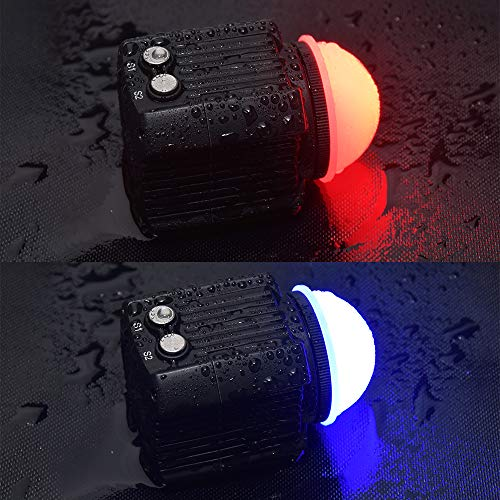 MEIKON Mini Waterproof led Light Scuba Diving Lights Fill-in Light for Waterproof housing Underwater Photographic Lighting System ... by MEIKON (Image #2)
