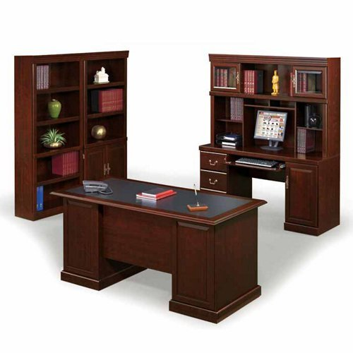 ure Heritage Hill Collection Office Suite, Classic Cherry (Heritage Home Office)