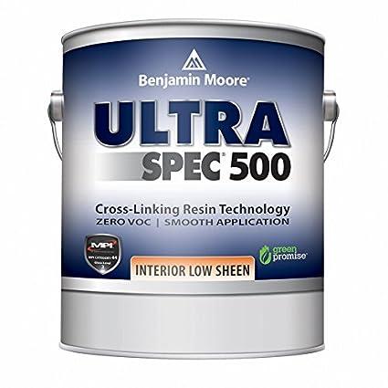 Benjamin Moore Ultra Spec 500 Interior Paint   Low Sheen Finish (Gallon,  Custom Color