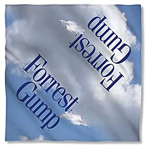 Forrest Gump 1994 Romantic Comedy Drama Movie Feather Logo Bandana