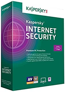 KASPERSKY INTERNET SECURITY 2015 (3USER) (B00LC9UU6C) | Amazon Products