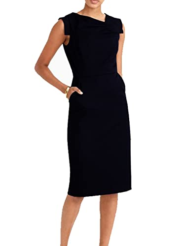 Blooming Jelly Women's Business Attire Ruched Sheath Dresses
