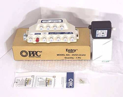 PPC EVOLUTION 9-PORT AMPLIFIER SIGNAL BOOSTER CABLE TV EVO1-9-U/U -