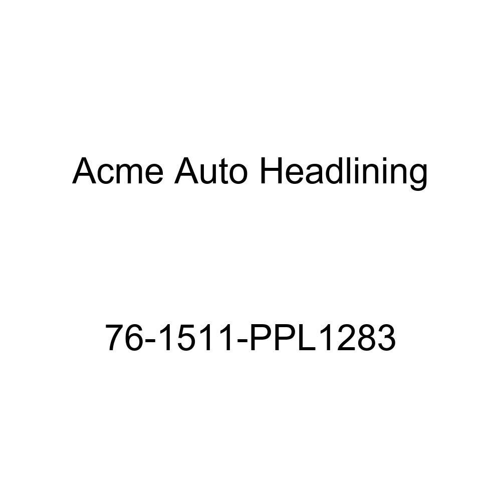 5 Bow 1976 Pontiac Catalina 2 Door Hardtop Acme Auto Headlining 76-1511-PPL1283 Dark Green Replacement Headliner