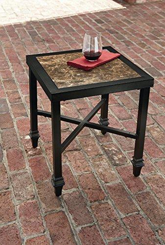 La-Z-Boy Outdoor Charlotte Side Table (Charlotte Boy La Z)