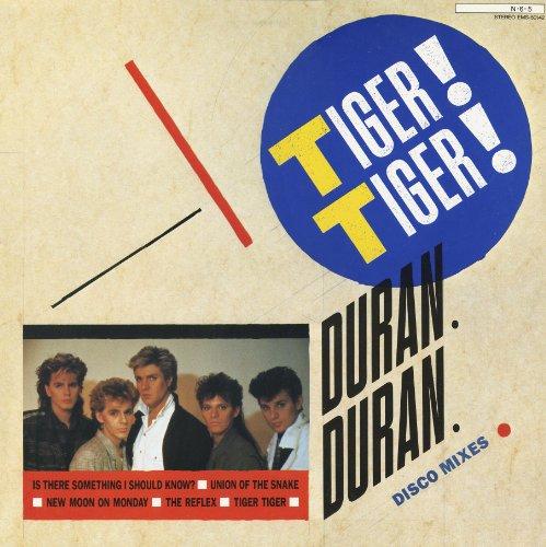 Duran Duran Tiger! Tiger! Disco Mixes Japan 12