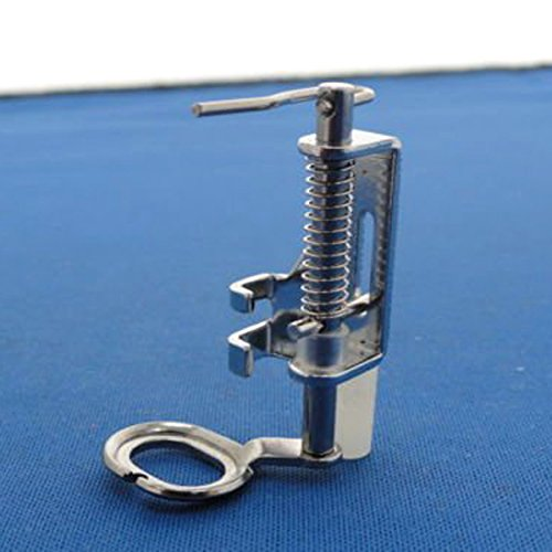 Tinksky Portable Free Motion Metal Quilting Presser Foot Feet for Domestic Sewing Machines (Silver)
